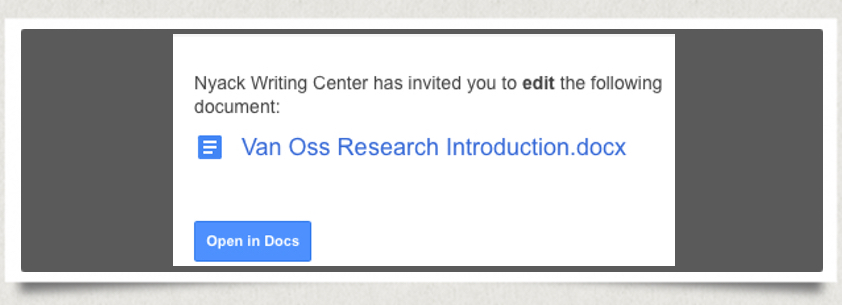 Step 4 of How to Begin an E-session with the Online Writing Center
