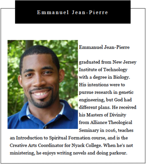 Nyack College Writing Center, Rockland Campus_Emmanuel Jean-Pierre's Bio