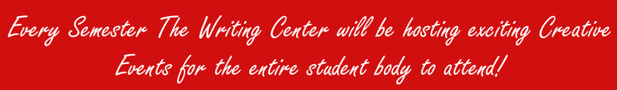 Upcoming Events with Nyack College Writing Center