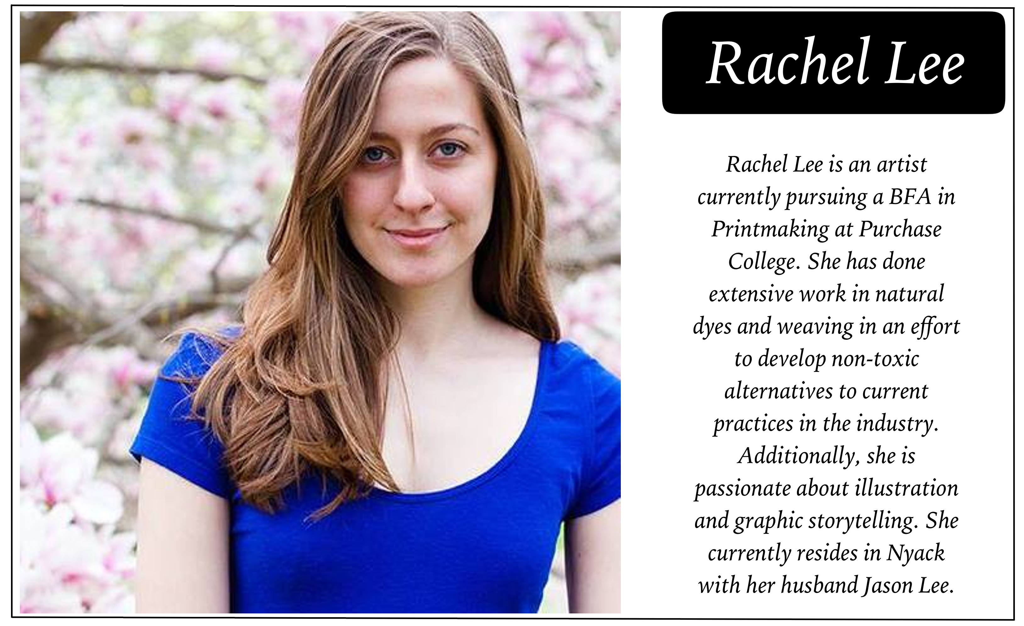 Nyack College Writing Center, Rockland Campus_Rachel Lee's Bio