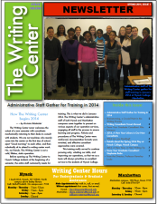 Spring 2014, issue 1, frontpage.png