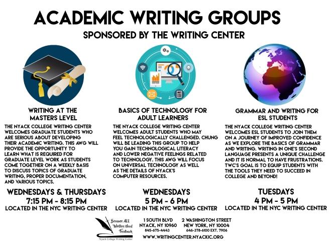 Academic Writing Groups - NYC