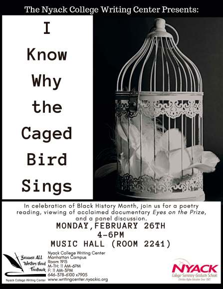 Manhattan Writing Center I Know Why the Caged Bird Sings