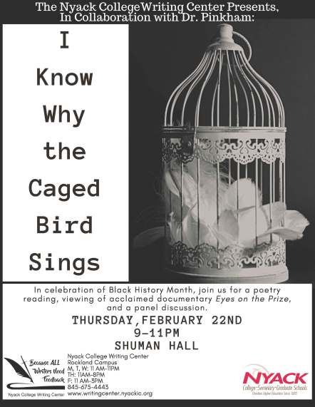 Rockland Writing Center I Know Why the Caged Bird Sings