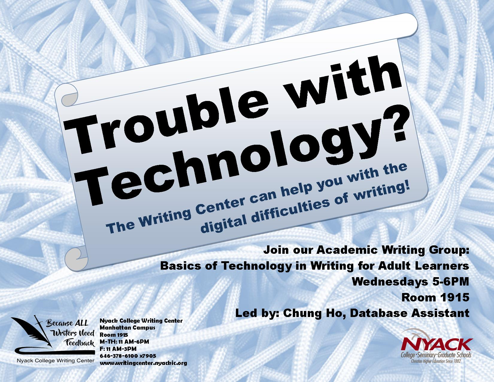 Technology Academic Writing Group